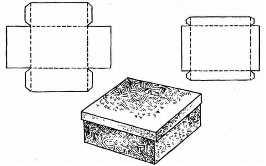 Способы изготовления коробки для подарка своими руками