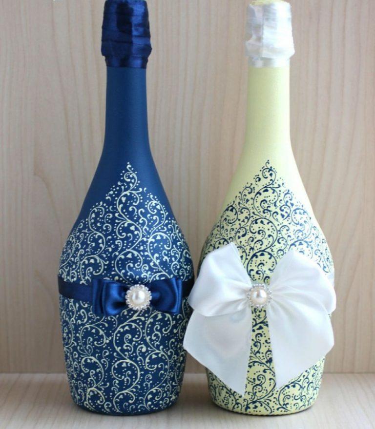 Бутылки на свадьбу своими руками, откуда берет начало эта традиция
