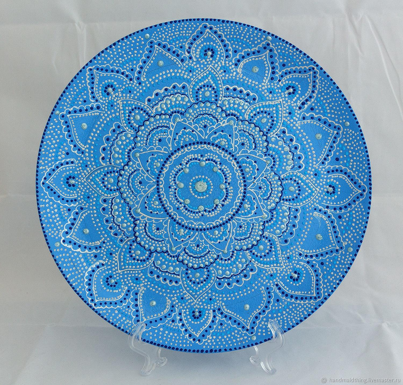 Точечная роспись тарелок, основы техники и мастер-классы