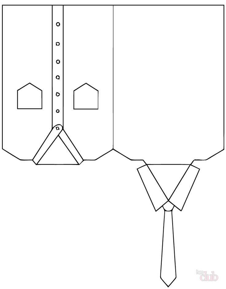 Поделка рубашка: схемы и советы по оформлению подарка для папы (105 фото)