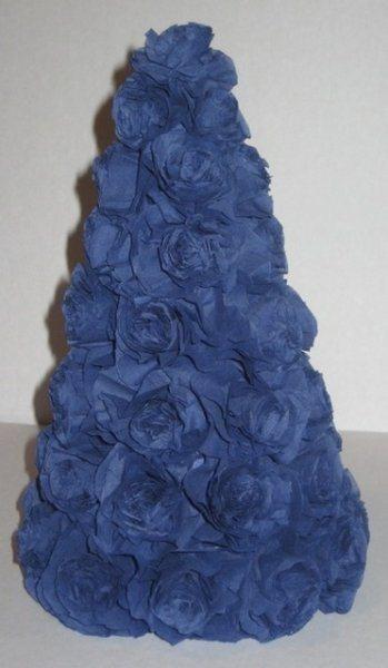 Бонсай топиарий ёлка мастер-класс новый год моделирование конструирование ёлочки из гофрированной бумаги бумага гофрированная гипс цемент картон