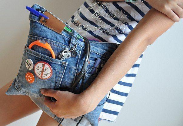 Конкурс «поделки из джинсов» — коробочка идей и мастер-классов