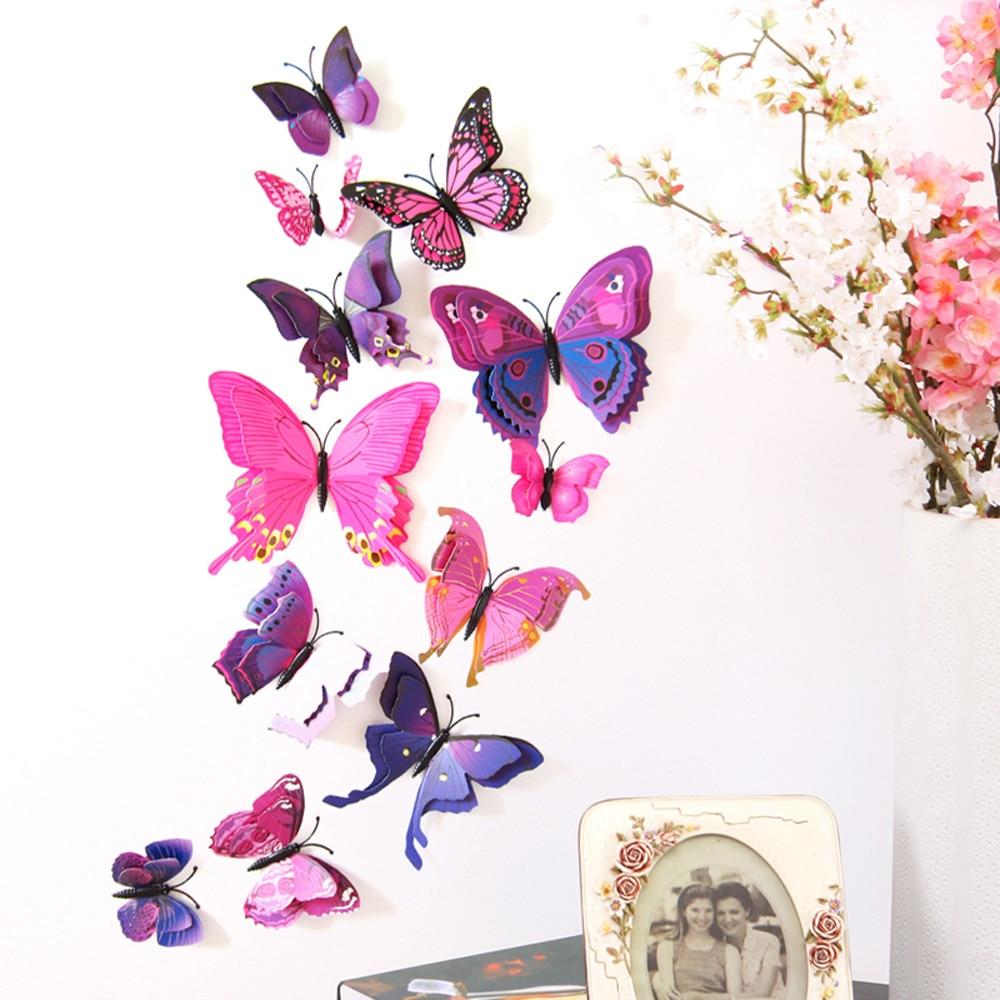 Бабочки в интерьере – порхающий символ любви и радости