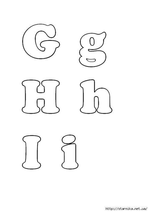 Алфавит из фетра своими руками