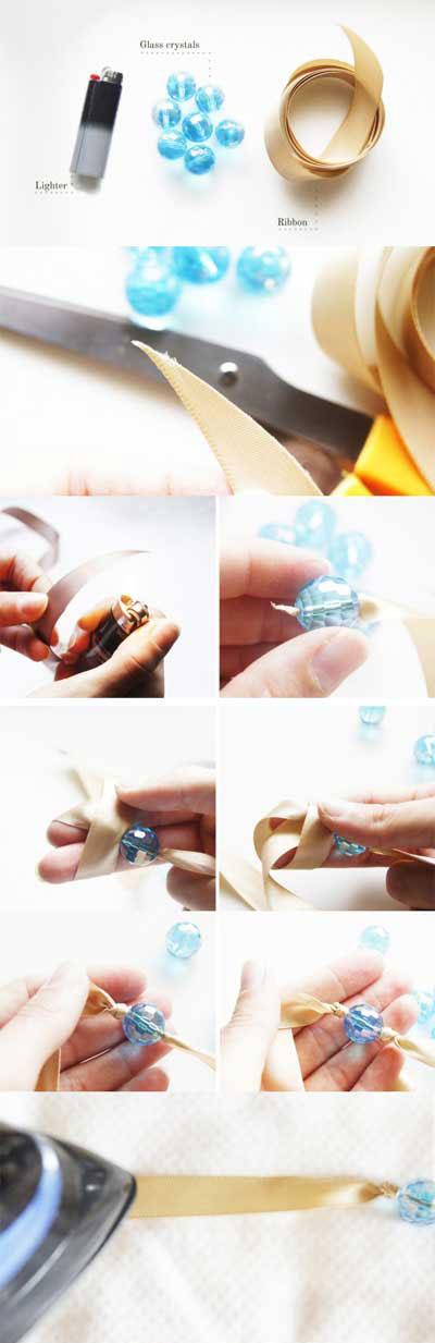 Как сделать браслет из подручных материалов