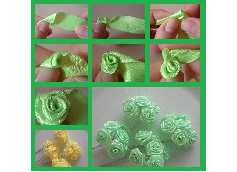 Как сделать розы из ткани — пошаговая фото инструкция к простому способу изготовления розы