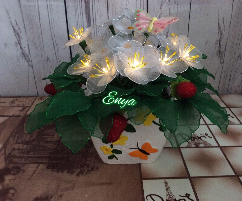Как изготовить цветы из капрона: мастер-класс по изготовлению предметов декора