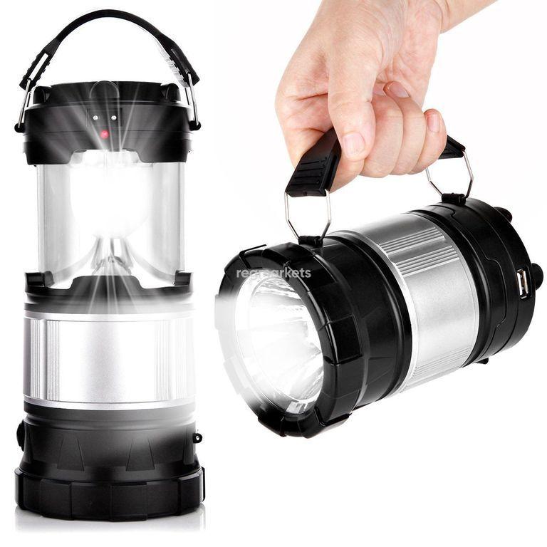 Туристический фонарь, который не даст споткнуться