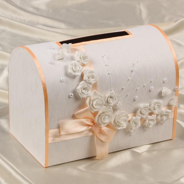 Подарочная коробочка на свадьбу
