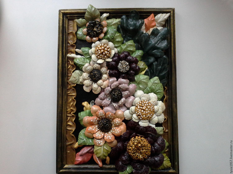 """Розы из кожи - объемная картина - совместное творчество - """" наше совместное творчество в душевной компании"""" - страна мам"""