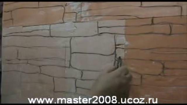 Укладка искусственного камня на стену своими руками
