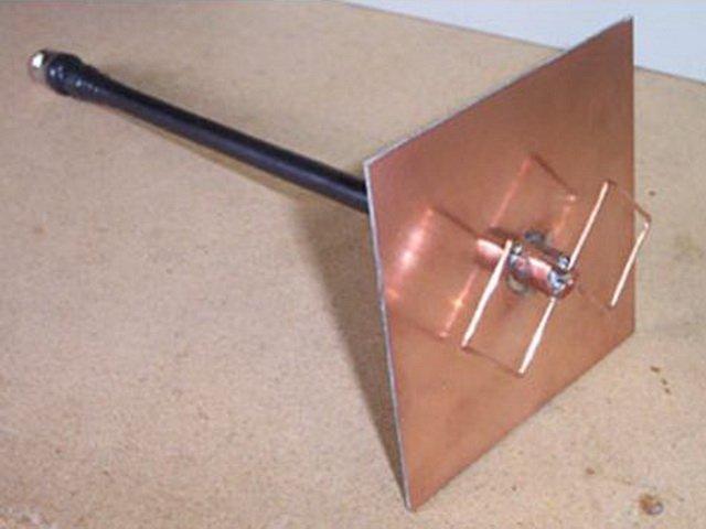 Антенна - Bi-Quad W-LAN Wi-Fi 2,4 ГГц