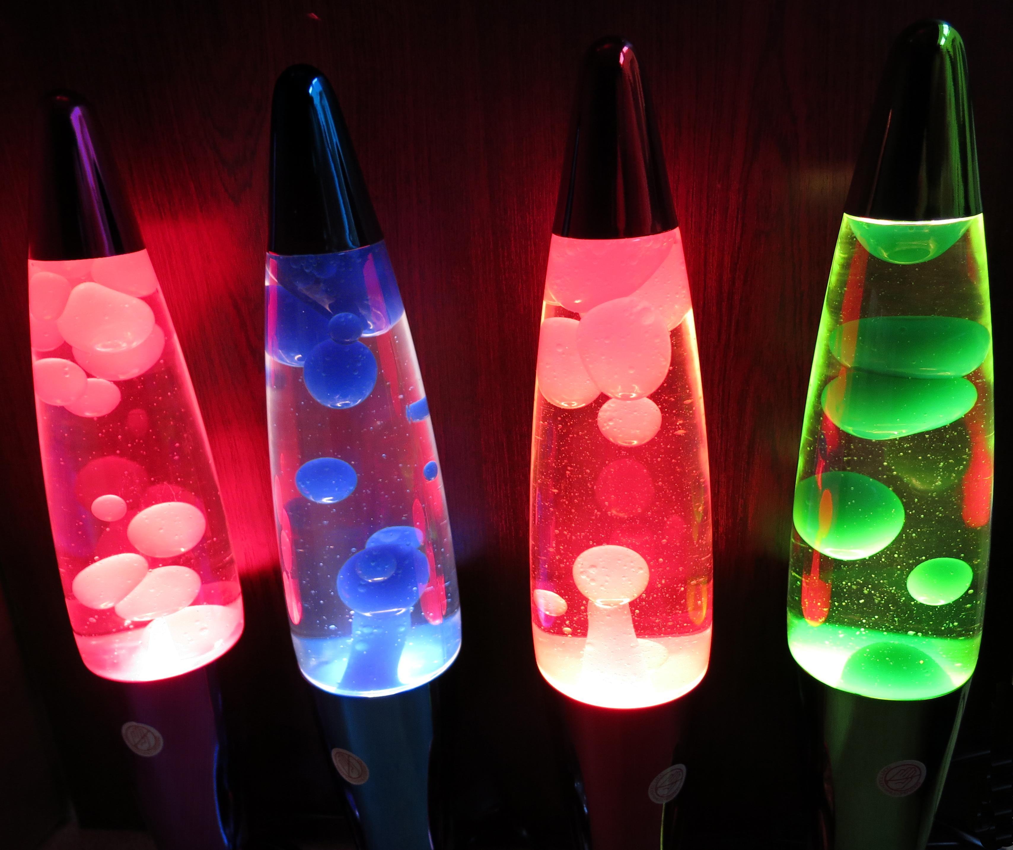 Лавовая лампа: принцип действия, конструкция, меры предосторожности, производители и модели, фото