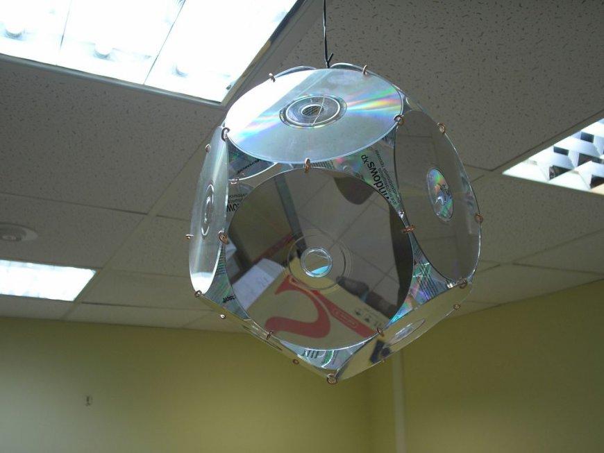 Поделки из дисков компьютерных своими руками: 130 фото идей, мастер класс, пошаговые инструкции