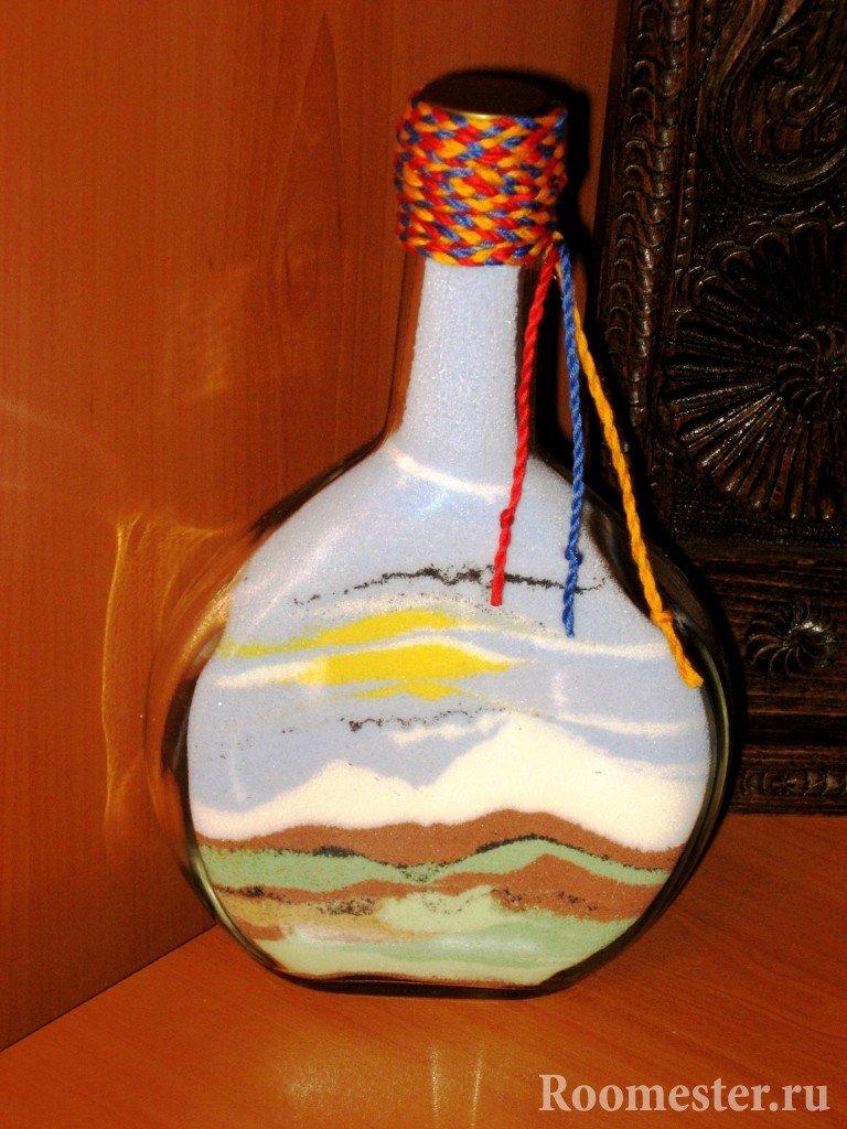 Цветная соль - декорирование бутылок . как сделать своими руками. | teenage.by