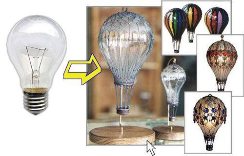 Светильник из бумаги и воздушного шарика своими руками - пошаговый мастер класс с фото
