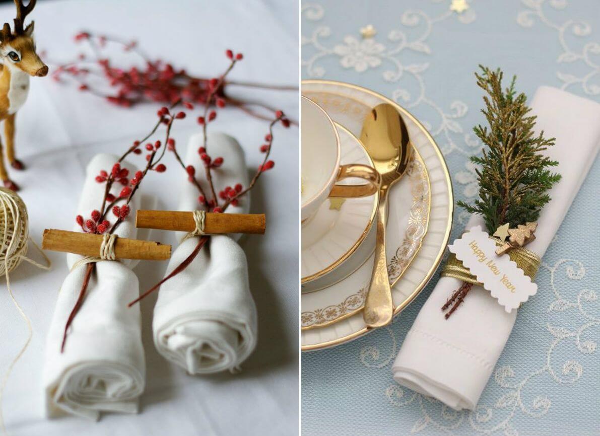 Кольца для салфеток своими руками: восхитительные украшения для праздничного стола