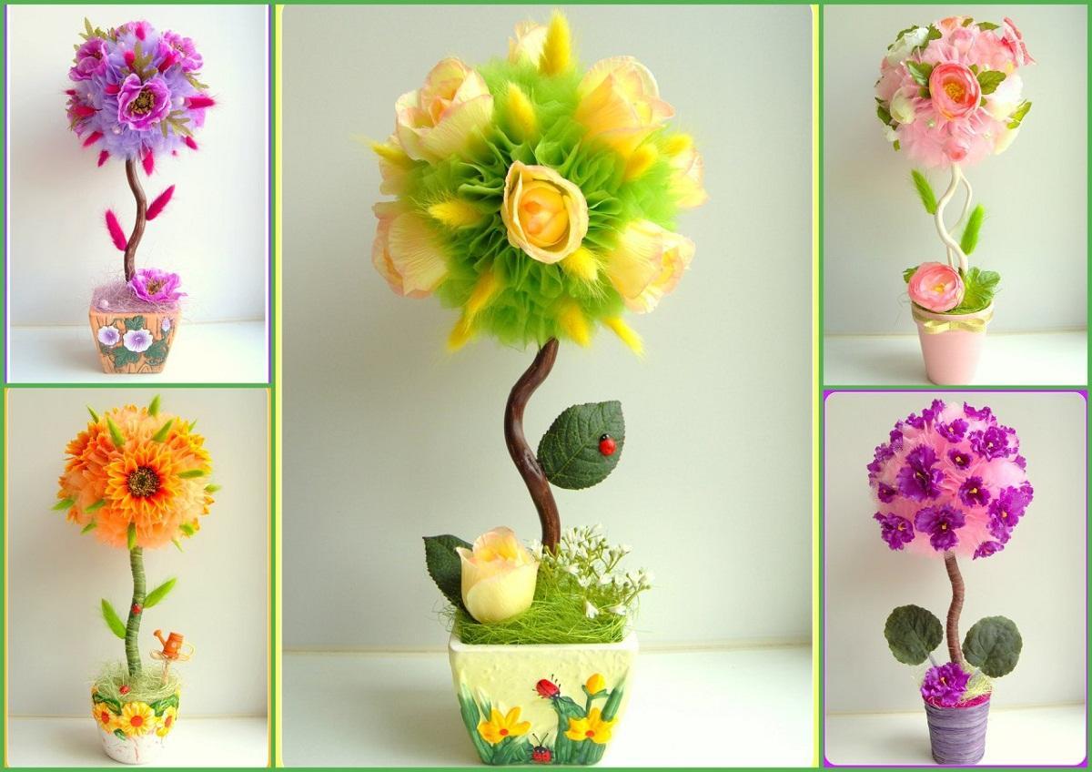 Поделка цветы своими руками: топ-160 фото нестандартных идей поделок + простой мастер-класс для начинающих по созданию своими руками