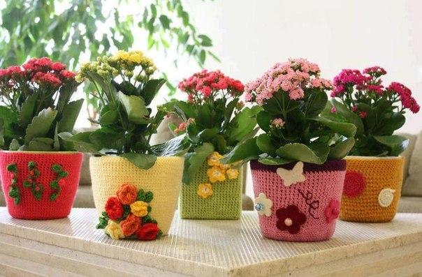Оригинальный декор цветочных горшков своими руками - интересные идеи, советы и фото примеры