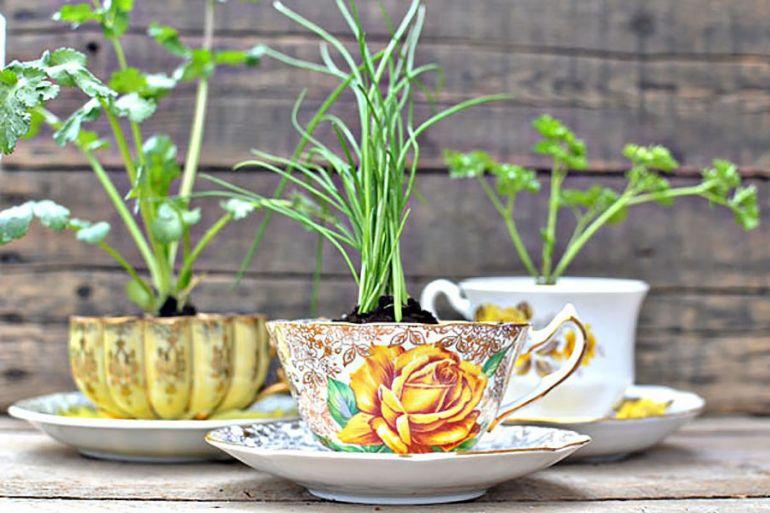 Мастерилка. 12 способов декорирования цветочных горшков