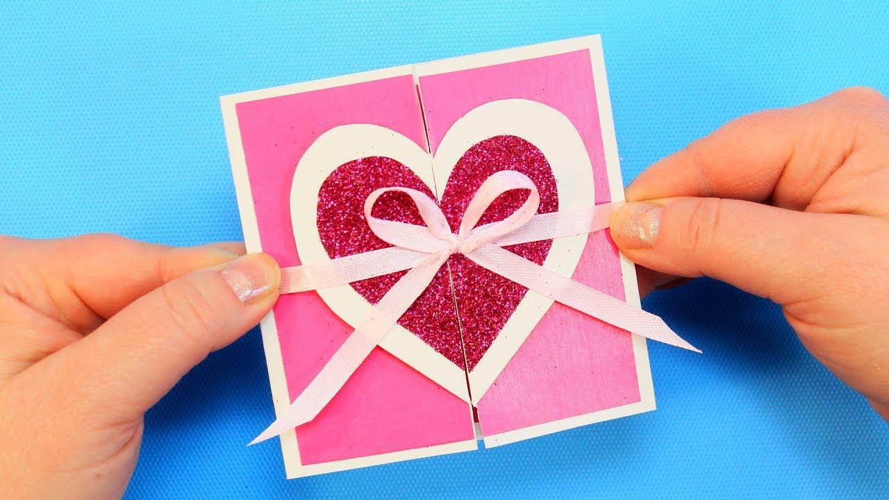 Валентинки своими руками: пошаговые схемы изготовления