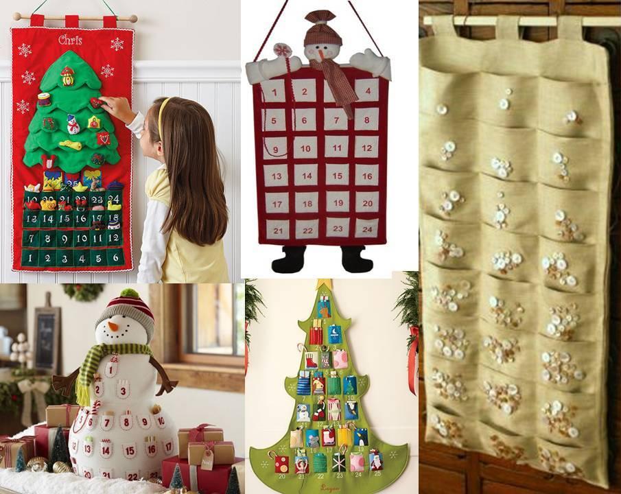 Новогодний адвент календарь для детей: подарки, список заданий, виды