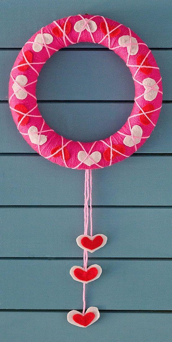 Гирлянды своими руками ко дню святого валентина: топ-25 «с хвостиком» — блоги мам