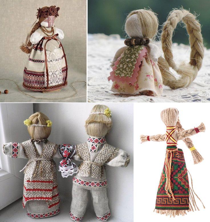 Как сделать куклу из ниток своими руками (фото)