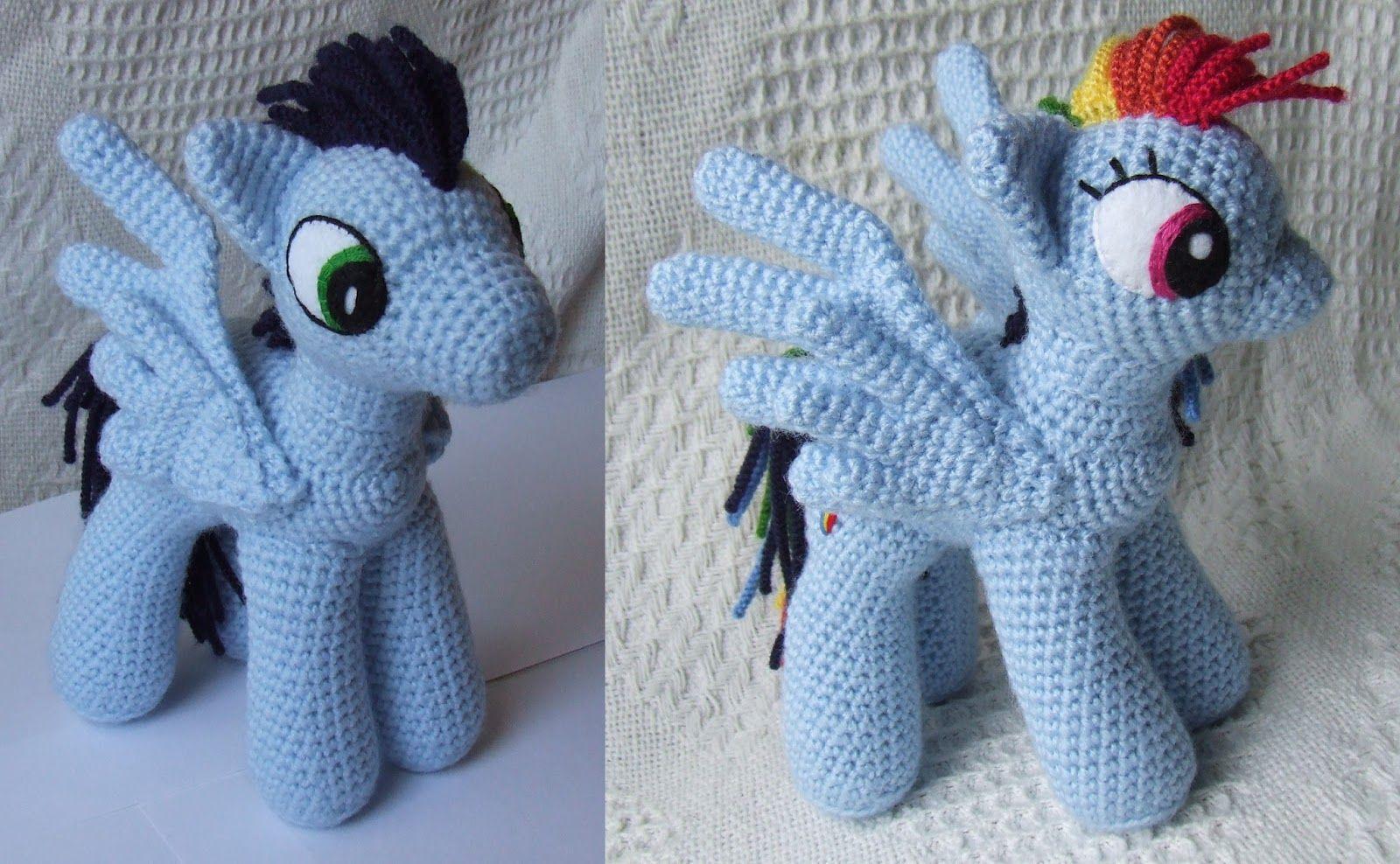 Игрушка мастер-класс вязание крючком лошадка- пони пряжа
