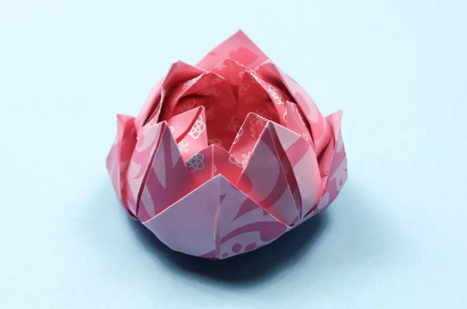 """Мастер-класс свит-дизайн моделирование конструирование мк """"лотоса"""" бумага гофрированная продукты пищевые"""