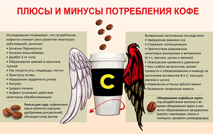 Как кофе влияет на сердце и другие органы: печень, желудок