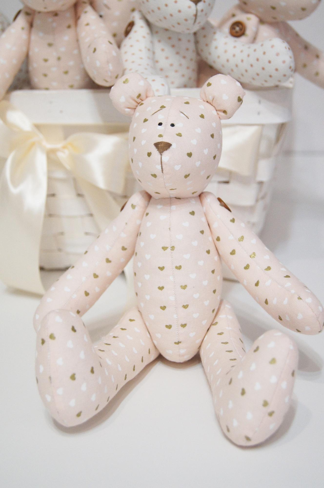 Кукла тильда зайка, мишка и санта клаус своими руками