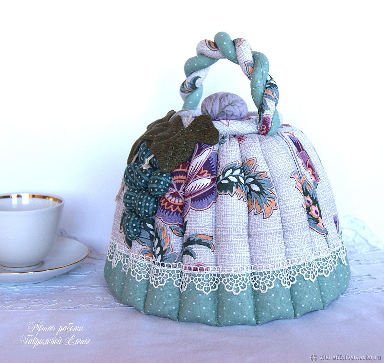 Грелка на чайник своими руками — приглашаем на ароматное чаепитие