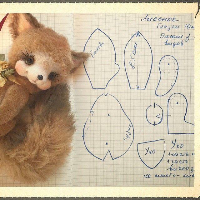 Выкройки игрушек из ткани: козы и мишки своими руками