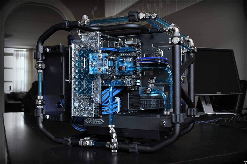 Абсолютный лидер: система жидкостного охлаждения ek-supermacy kit h3o 360 hfx / корпуса, бп и охлаждение