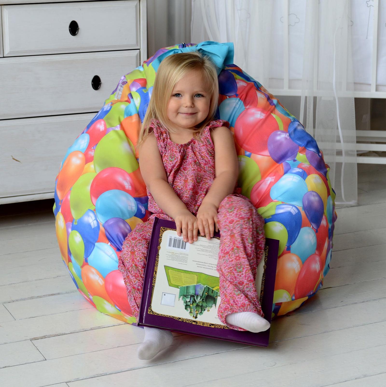 Детские пуфики: варианты стиля и цвета, примеры мягких моделей, фото дизайна