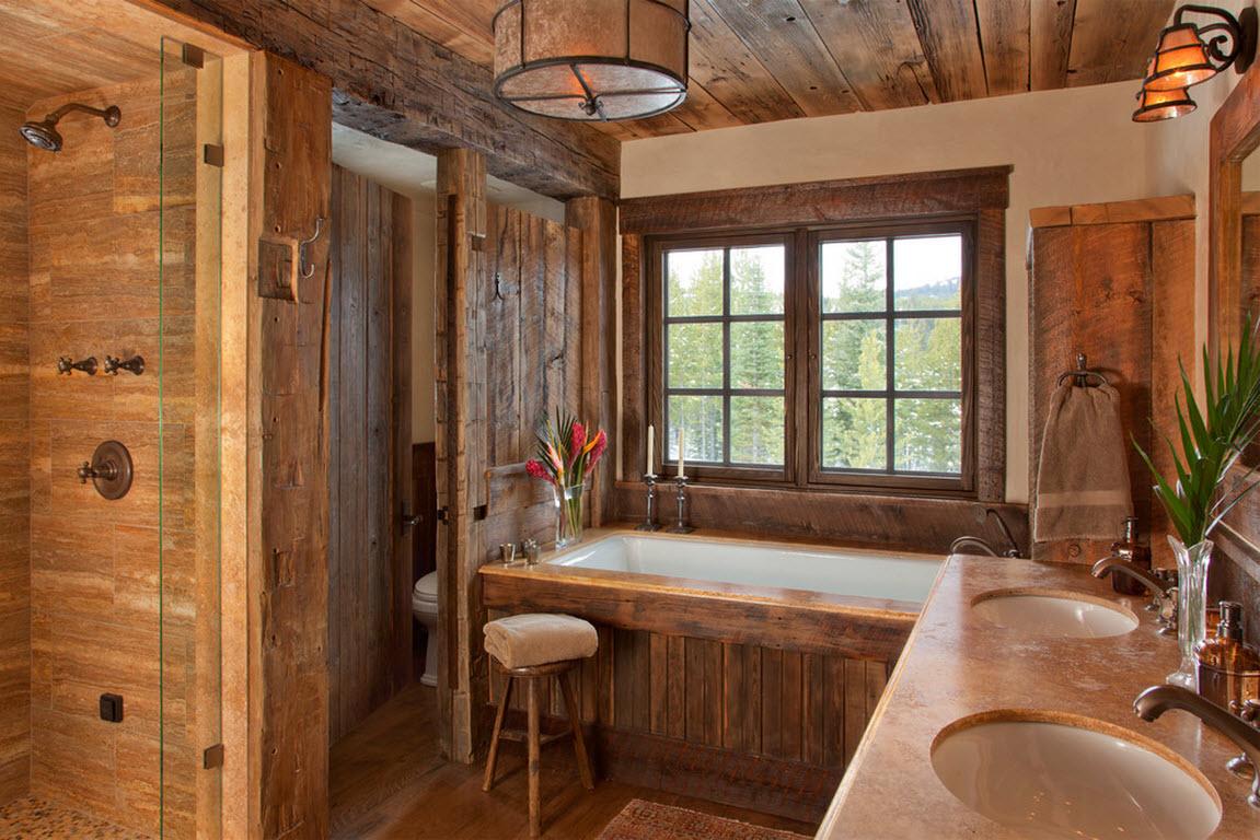 Санузел в деревянном доме: как сделать своими руками, устройство и варианты дизайна