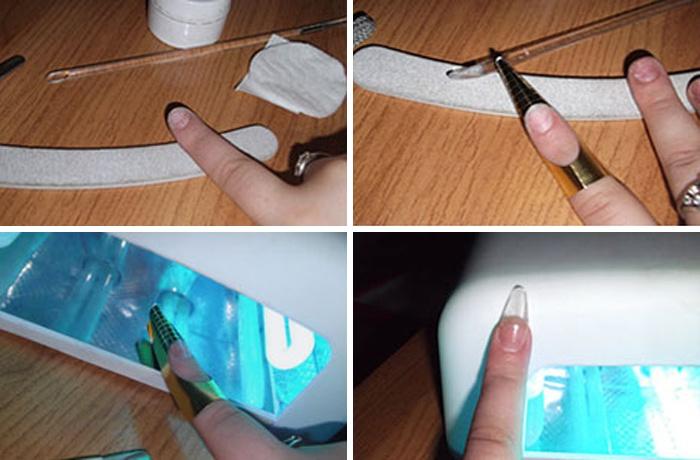 Акриловое наращивание. наращивание ногтей акрилом: видео и пошаговая инструкция