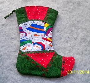 Рождественский сапожок из фетра своими руками