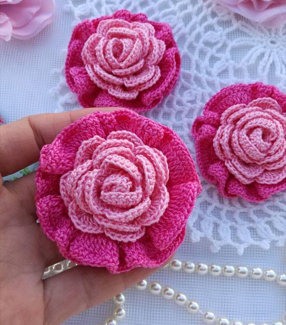 Розы из ткани своими руками: выкройки, шаблоны, трафареты, пошаговый мастер-класс для начинающих