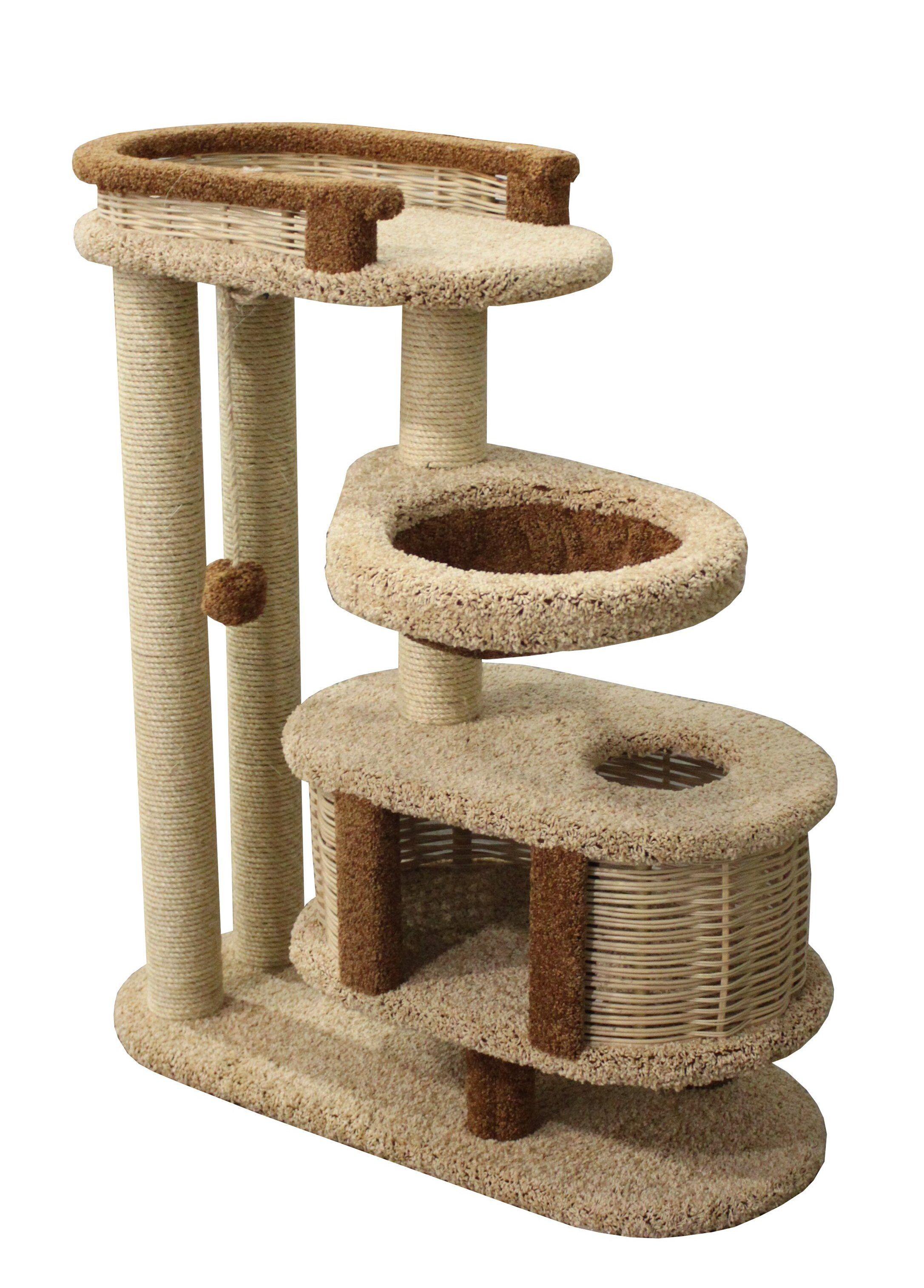 Игровые комплексы для кошек: особенности, виды, правила выбора
