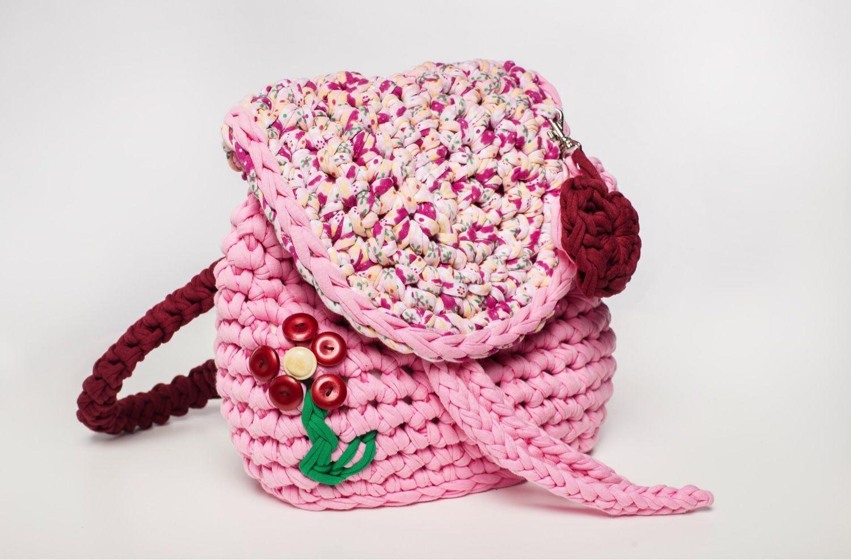 Детская сумочка крючком для начинающих