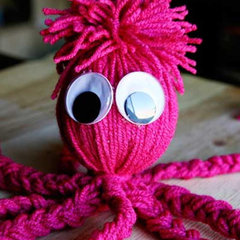 Осьминожек из флиса своими руками. мягкая игрушка осьминог выкройка игрушки осьминога шитье из ткани