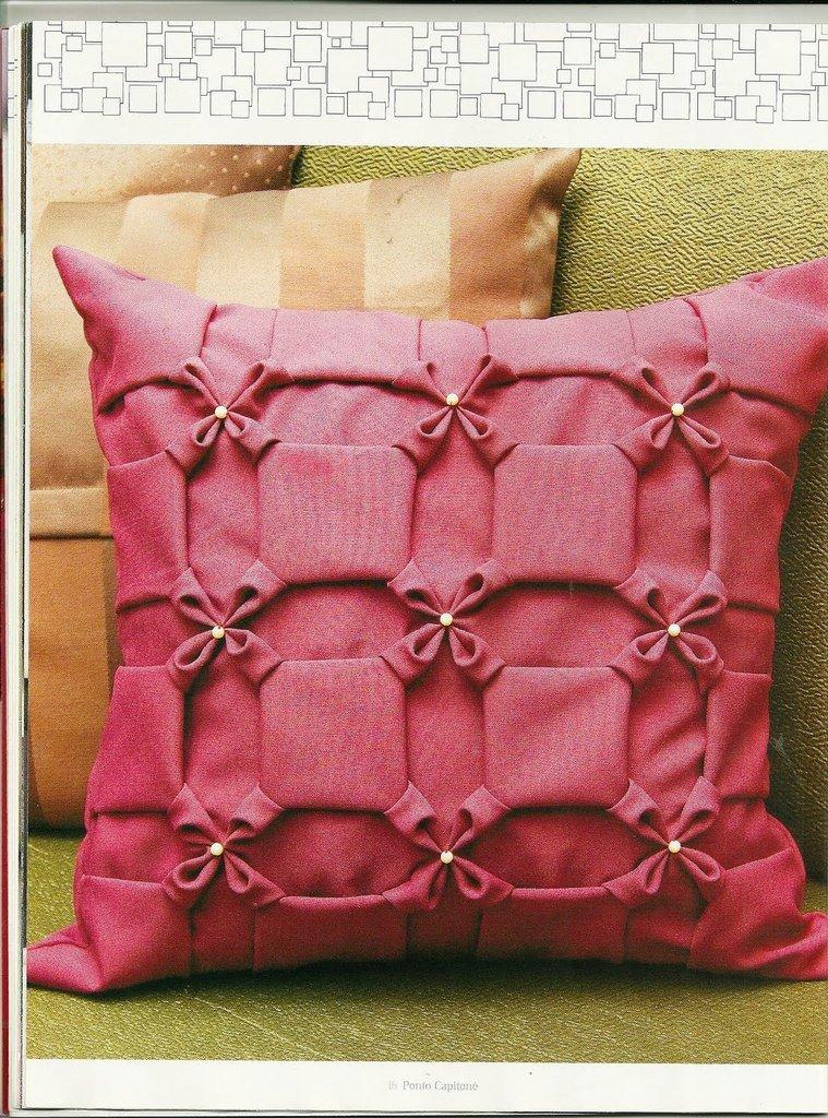 Подушки своими руками: материалы, наполнители и формы