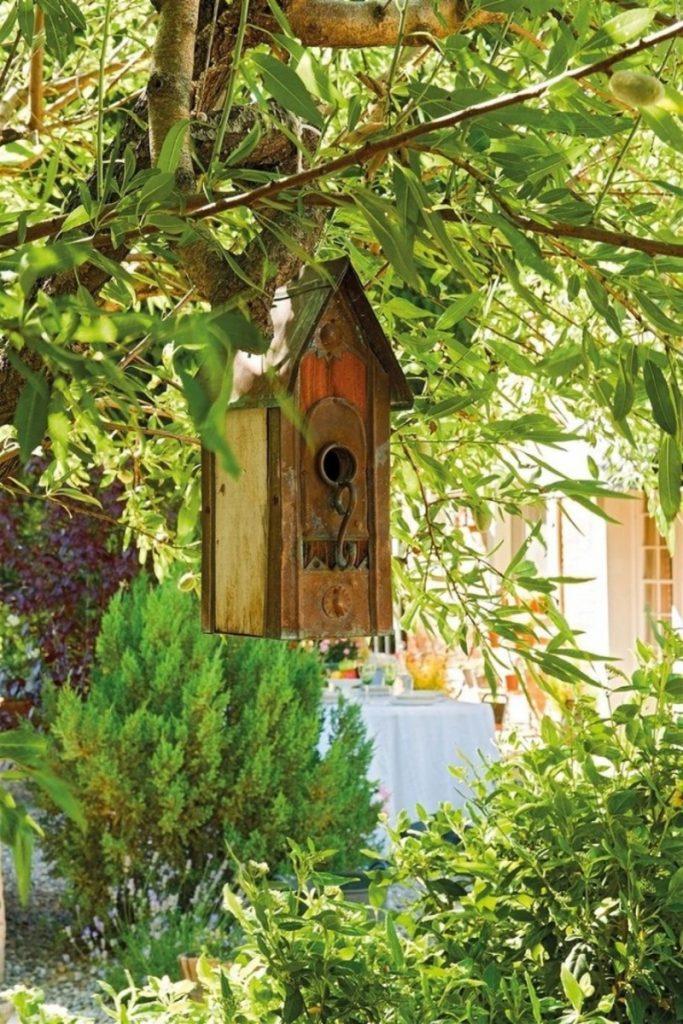 Как привлечь птиц в сад. кормушка. скворечник. покормите птиц. фото.