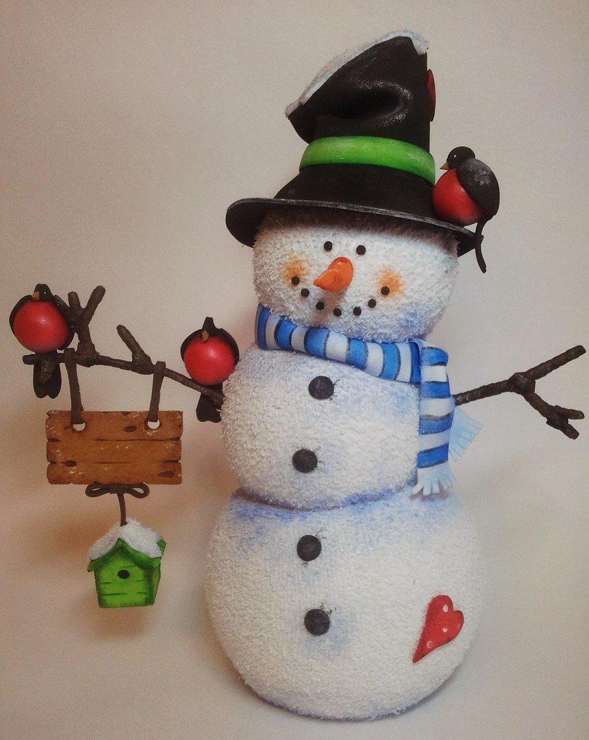 Снеговики своими руками (мастер-класс) — простая инструкция, как сделать красивого снеговика с необычным дизайном (фото + видео)