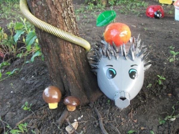 Как сделать поделку ежик: лучшие идеи декора для сада и варианты создания игрушек из подручных материалов (130 фото)