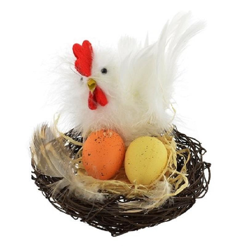 """""""пасхальная курочка с яйцом"""""""