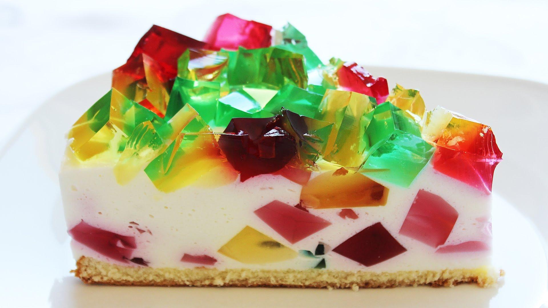 """Торт """"битое стекло"""" – кулинарный рецепт"""