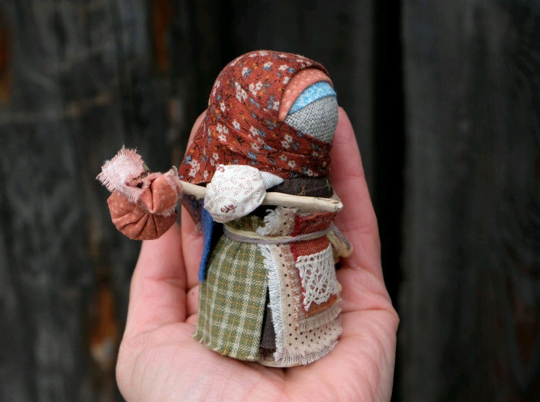 Кормилка вепсская– народная тряпичная кукла | каракули